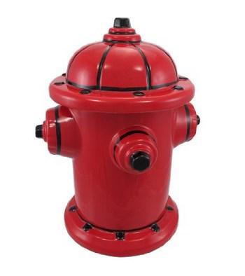 Fire Hydrant Ceramic Treat Jar