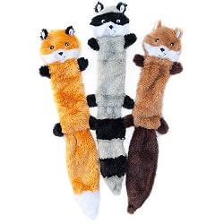 Skinny Peltz Squeaky Dog Toys
